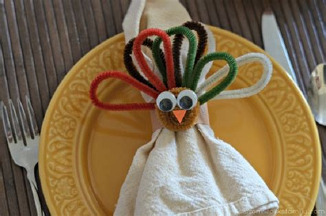 printable thanksgiving napkin ring craft top 10 diy thanksgiving crafts for kids top inspired