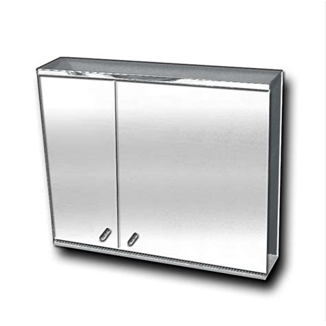 stainless steel mirror cabinet fmc 800815 stainless steel mirror cabinet bacera