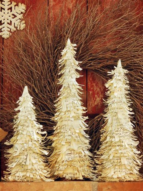 christmas trees to cut yourself 10 beautiful sheet ornaments you can make yourself