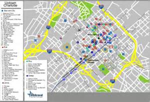 map of downtown charlotte nc submited images.