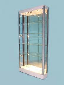 Glass Display Cabinet In Uk Slim Line Glass Display Cabinets For The Home 183 Designex