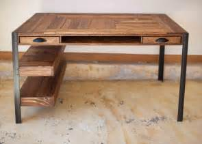Wood Desk Ideas Pallet Wooden Desk Jpg 600 215 430 Ideas Pallet Desk Pallet Furniture And Pallets