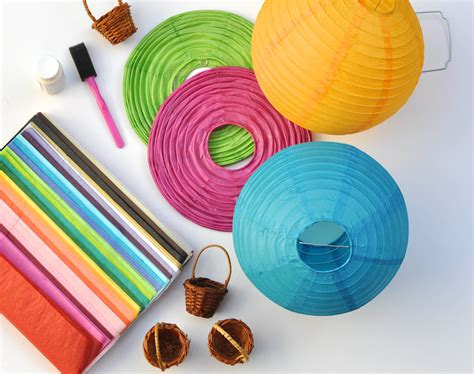 How To Make Circle Paper Lanterns - fresh paper lantern chandelier diy 10283