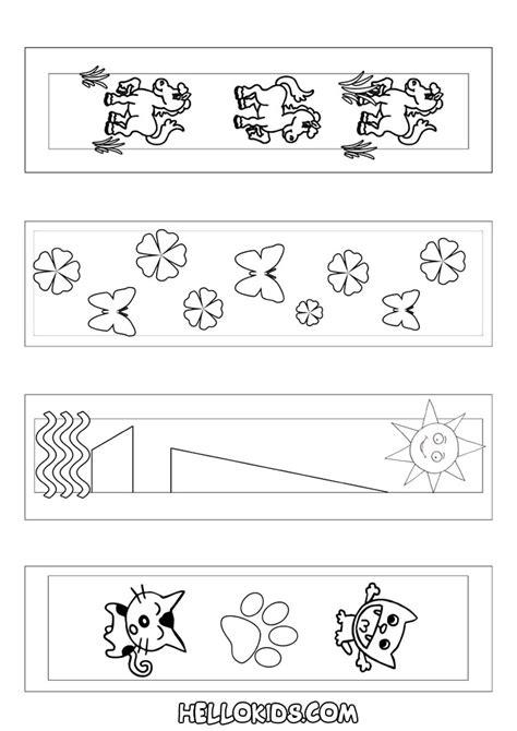 printable animal bookmarks to color animal animal bookmark coloring page