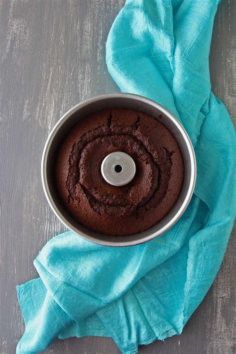 Gluten Free Chiffon Cake 18cm ricetta fluffosa al cioccolato gluten free ifood