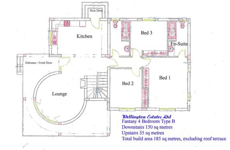 floor plans designer 4 bedroom bungalow floor plans in nigeria