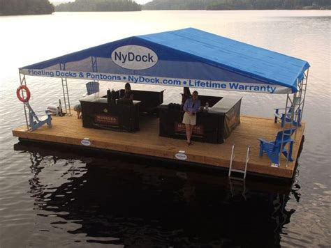 used pontoon boat dock for sale dock boats nydock floating docks pontoons pipefusion