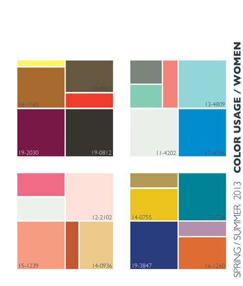 colour trends lenzing spring summer 2013 color trends color usage for