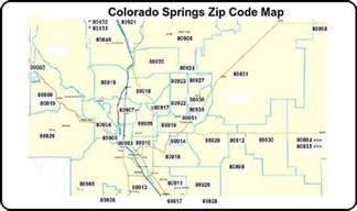 colorado springs co zip code map colorado springs zip code map notary colorado springs