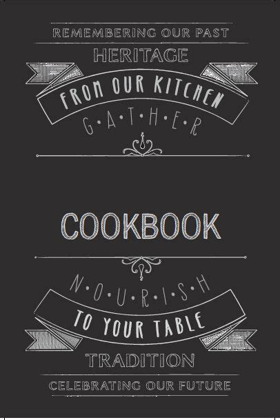 printable recipe book cover template best 20 cookbook template ideas on pinterest cookbook
