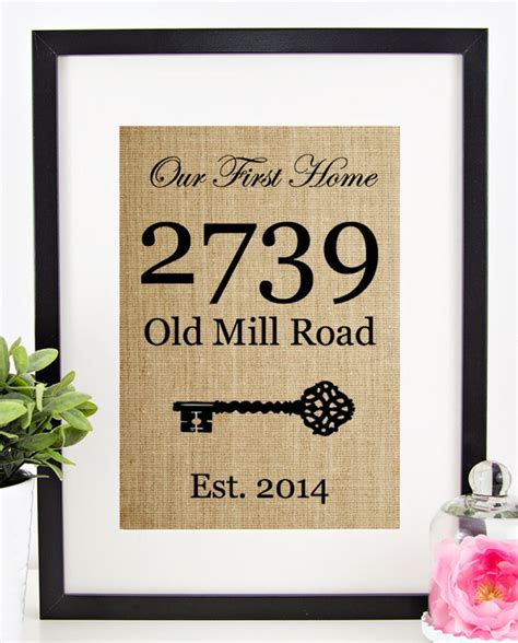 new house gifts house warming gift new home housewarming gift by chathlace