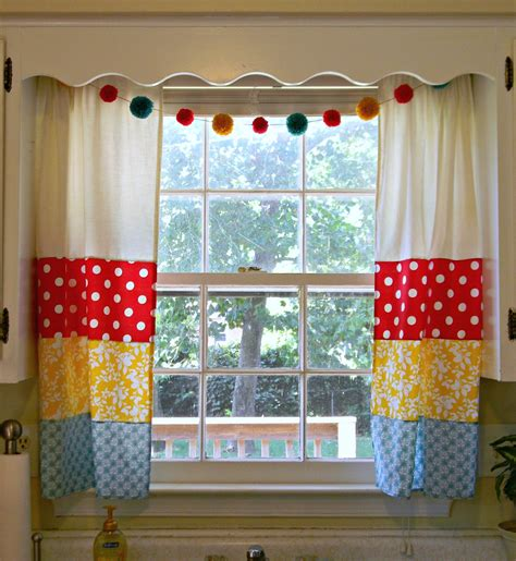 Fancy Window Curtains Ideas Freaked Out N Small My Fancy New Kitchen Curtains