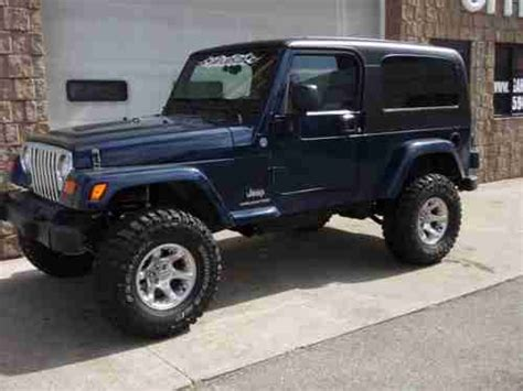 2006 Jeep Wrangler 4 Cylinder Sell Used 2006 Jeep Wrangler Unlimited 6 Cyl 6 Spd 4