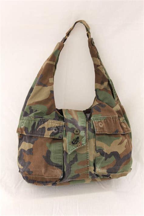 military tote bag pattern large military bag hobo bag upcycled us navy military