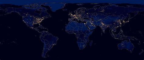 imagenes satelitales de la tierra de noche 191 c 243 mo se ve la tierra por la noche desde el espacio
