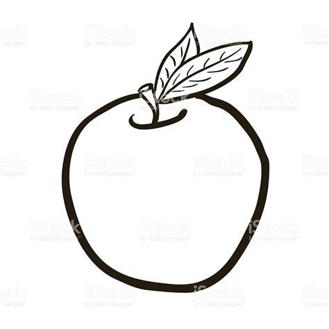 imagenes blanco y negro de frutas dibujo animado en blanco y negro dibujado a mano alzada