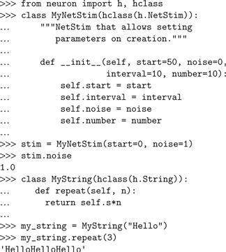 python tutorial class inheritance frontiers neuron and python frontiers in neuroinformatics