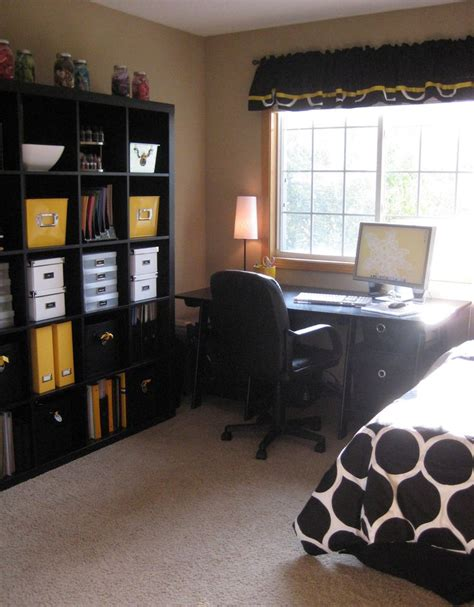 bedroom and office 25 best ideas about guest room office on pinterest