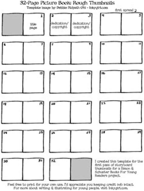 Writing Illustrating A Picture Book For Simon Schuster Books For Young Readers Part 2 Picture Book Template Pdf