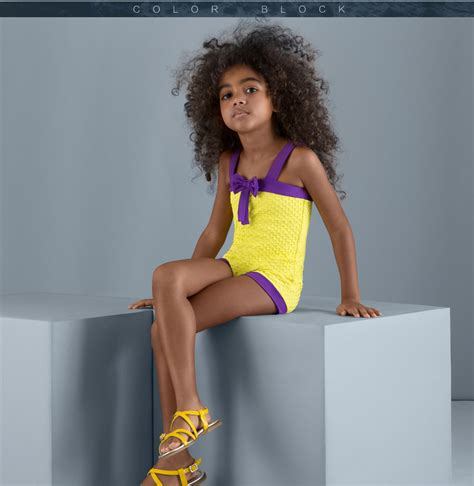 child models mean girl balneaire new arrival sexy yellow color child models girls