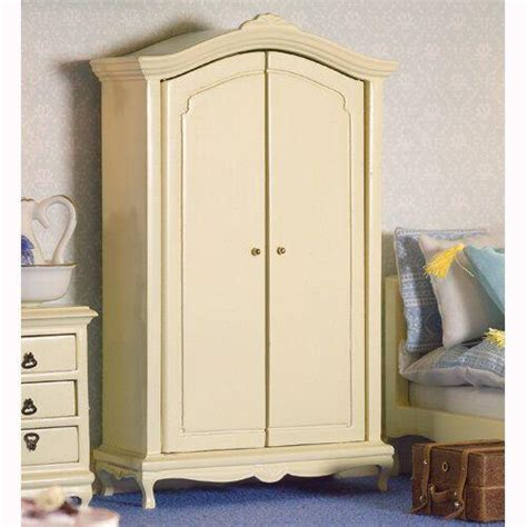 dolls house wardrobe the dolls house emporium french style cream double wardrobe