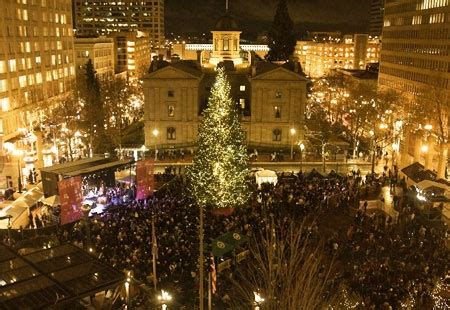 images of portlands xmas trees 17 best images about portland pioneer square on trees festivals and