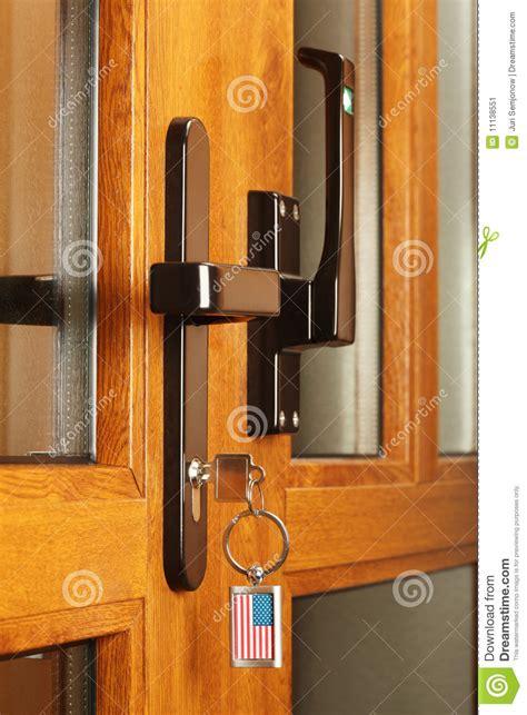 Front Door Key Front Door With Key Stock Image Image 11138551