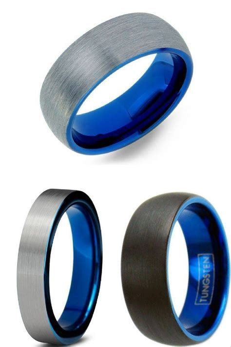 15 Inspirations of Hammered Tungsten Men's Wedding Bands