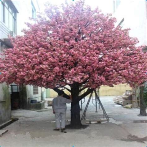 outdoor tree cherry blossom artificial cherry blossom tree large outdoor artificial trees cherry blossoms buy 2014