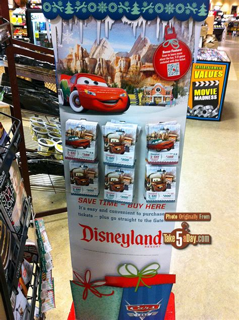 Disneyland Gift Cards Costco - disneyland parks christmas gift card take five a day