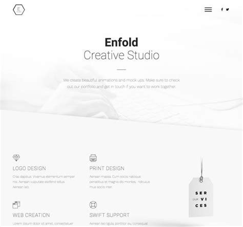 enfold theme portfolio tutorial enfold demo overview a list of all available enfold demos