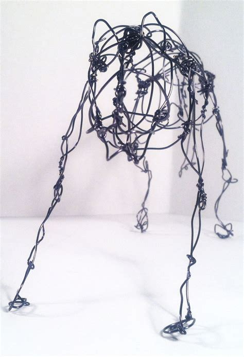Wire Wolf Competition Wire wire wolf 6 by eightyeightdoodles on deviantart
