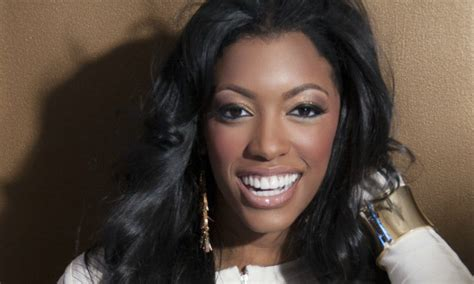 image of porsche williams without hair weave porsha stewart wig line porsha stewart shows new wig