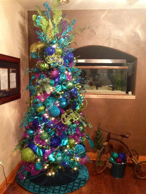 peacock feather christmas trees for sale 25 best ideas about peacock tree on ribbon on tree blue