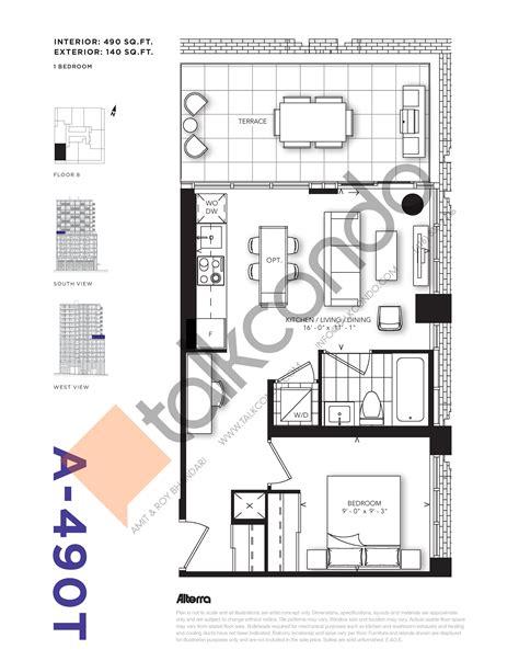 Condos Toronto Floor Plans - condos talkcondo