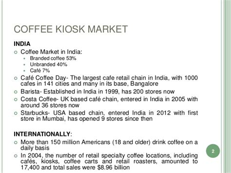 Sle Business Plan Kiosk | coffee kiosk business plan