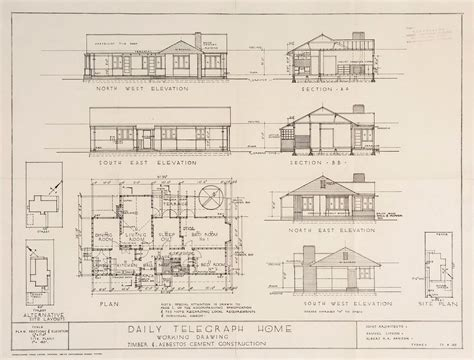 floor plans sydney post war sydney home plans 1945 to 1959 sydney living