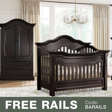 Baby Appleseed Crib Baby Appleseed Millbury 2 Nursery Set Convertible Crib And Armoire In Espresso Free Shipping