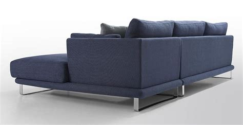 modern blue fabric sectional sofa lucas fabric