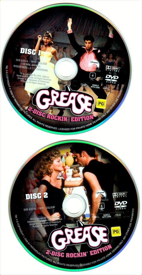 grease dvd  australian release