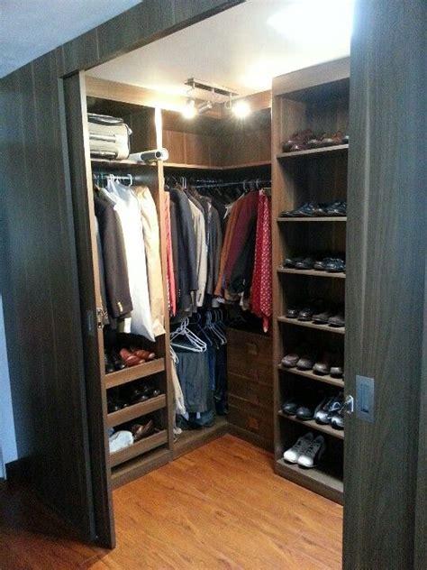 mens closet dark brown modern men s closet closet his
