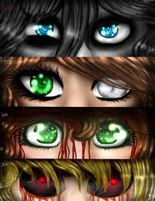 creepypasta eyes jeff clock sally ben dashameleshkina666 deviantart