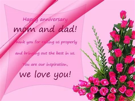 message to parents anniversary wishes for parents wishes greetings