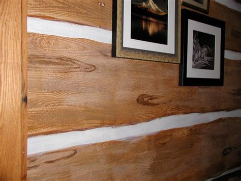 Log Home Interior Walls by Best 25 Faux Cabin Walls Ideas On Pinterest Wood Walls