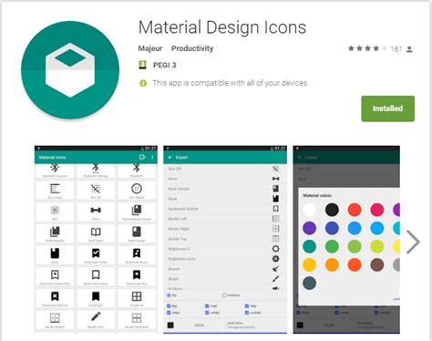 material design icon usage material design icons tasker plugin not enough tech