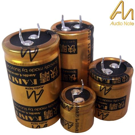 audio note capacitor audio note kaisei electrolytic capacitors hifi collective