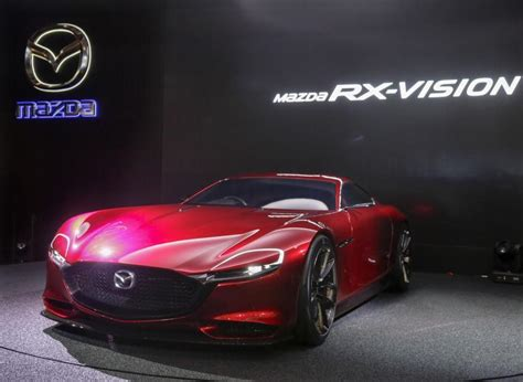 what company makes mazda rotary engine makes comeback with mazda rx vision