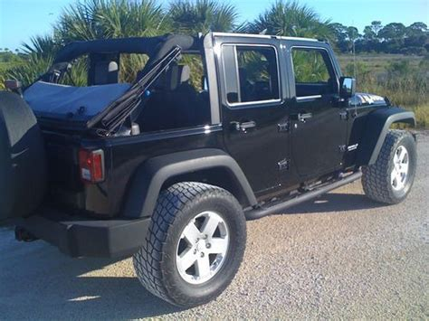 jeep islander 4 door buy used 2010 jeep wrangler unlimited islander sport