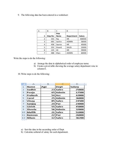 Mba Assignment Format Exle by Excel Assignment