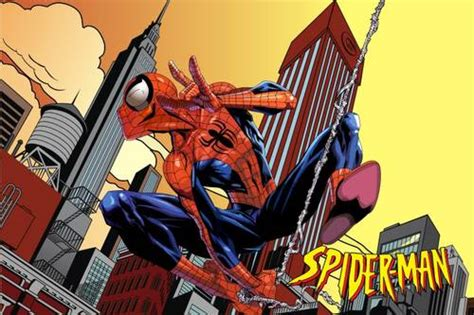 wallpaper spiderman biru dinomarket pasardino stiker dinding cartoon spiderman